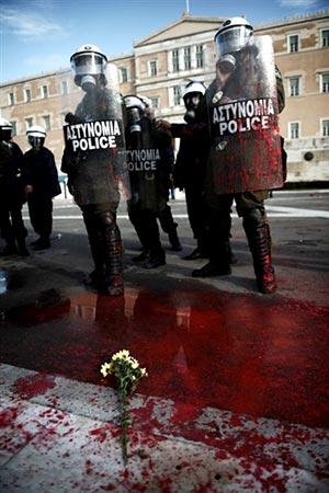 Émeutes en Grèce