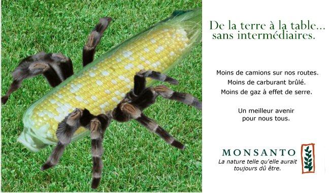 Monsanto, la nature telle qu'elle aurait toujours dû être.