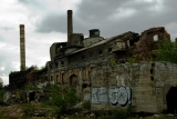 Une ruine industrielle, prélude au déclin annoncé d'une civilisation