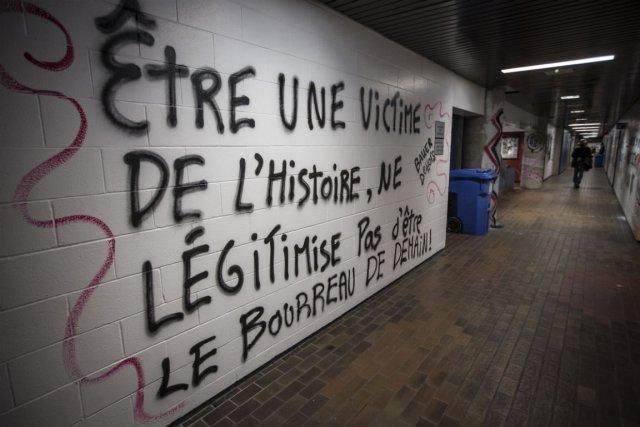 Université du Québec à Montréal, novembre 2012