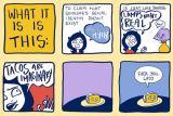 «Biphobia», par Kate Leth