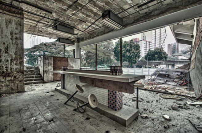 Le dernier restaurant avant la fin du monde